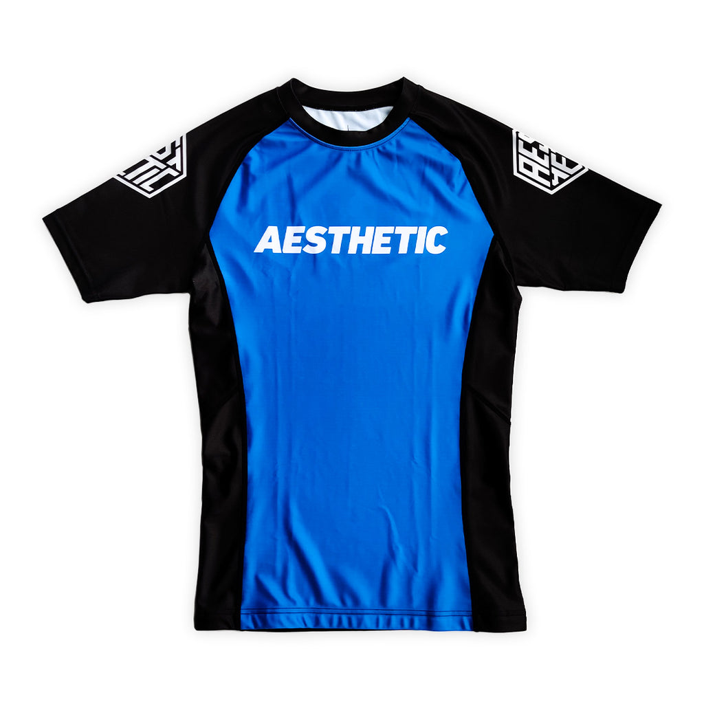 CORE RANKED RASHGUARD - BLUE