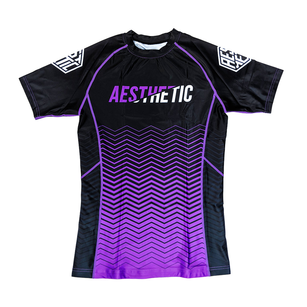 2019 RANKED RASHGUARD - PURPLE