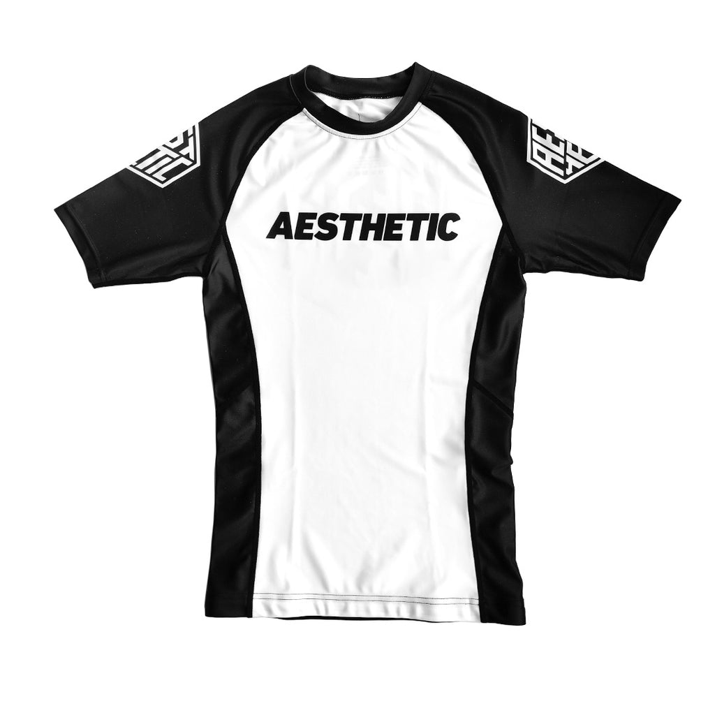 CORE RANKED RASHGUARD - WHITE