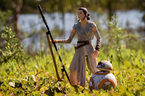 Star Wars Rey and BB-8 Black Series Hasbrop