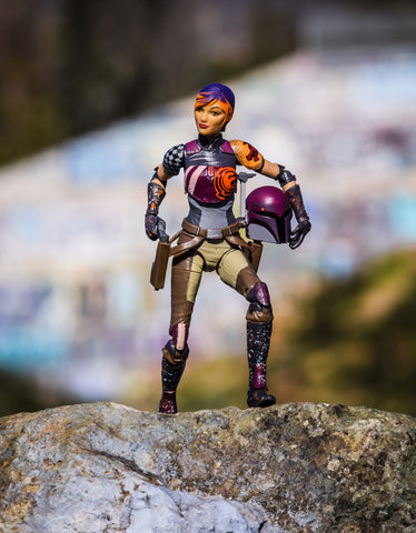 Star Wars Black Series Sabine Hasbro