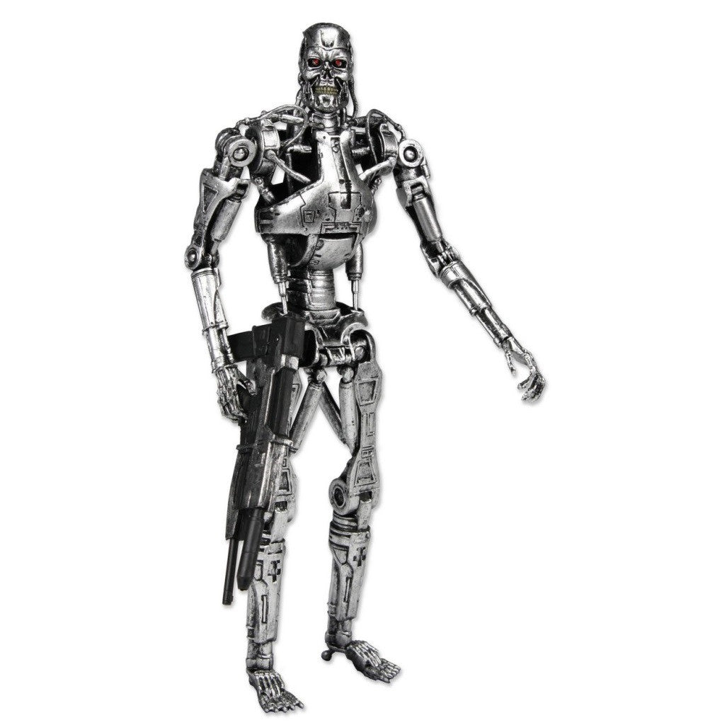 Terminator – 7″ Action Figure – T-800 Endoskeleton in Windowbox Packaging - NECA - Woozy Moo - 1