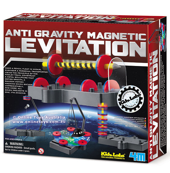 Anti Gravity Magnetic Levitation Kit - 4M - Woozy Moo - 1