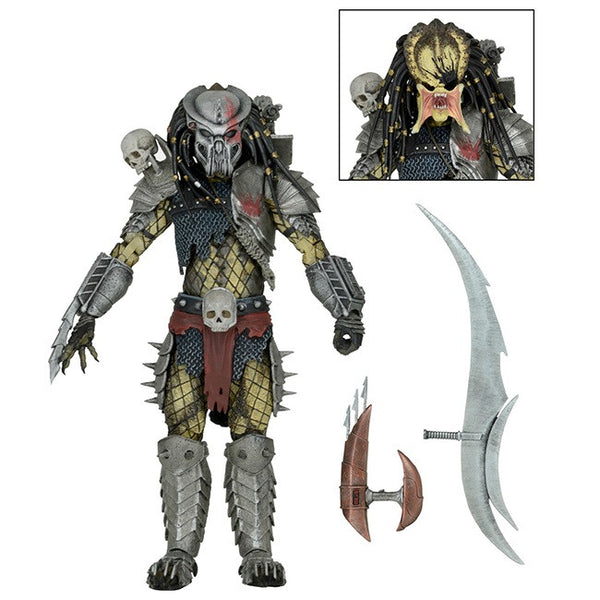 "Predator – 7"" Scale Action Figure – Ultimate Scarface (Video Game Appearance) - NECA - Woozy Moo"