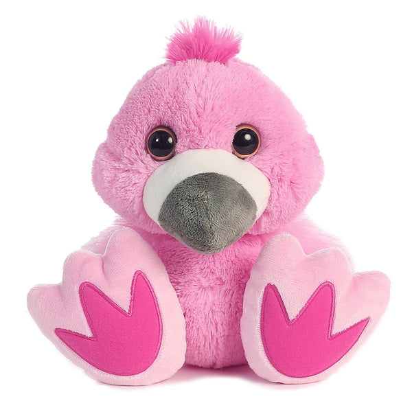Flamingo Taddle Toes Plush - Aurora - Woozy Moo - 1