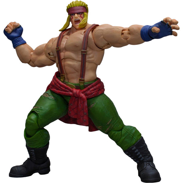 Alex | Street Fighter V (SF5) | 1/12 Scale Action Figure | Storm Collectibles | Woozy Moo