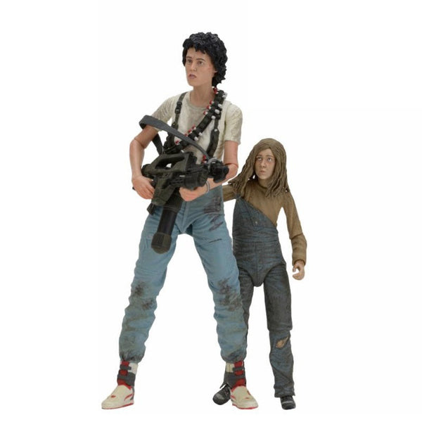 Aliens - Ripley & Newt Deluxe 2 Pack 7'' Scale Action Figure - 30th Anniversary - NECA - Woozy Moo - 1