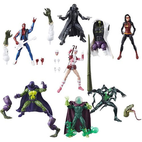 "Amazing Spider-Man Wave 9 (Lizard BAF) Marvel Legends 6"" Action Figures Case of 8"