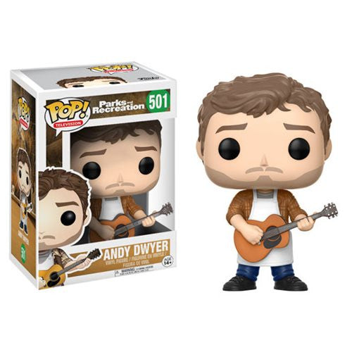 Andy Dwyer (Chris Pratt) - Parks and Recreation - Pop! Television Vinyl Figure - Funko - Woozy Moo