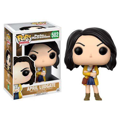 April Ludgate (Aubrey Plaza) - Parks and Recreation - Pop! Television Vinyl Figure - Funko - Woozy Moo
