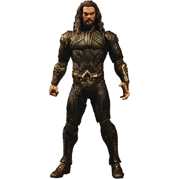 Aquaman (Jason Momoa as Arthur Curry) | DC's Justice League (2017, DC Extended Universe) | One:12 Collective | Mezco Toyz | Woozy Moo
