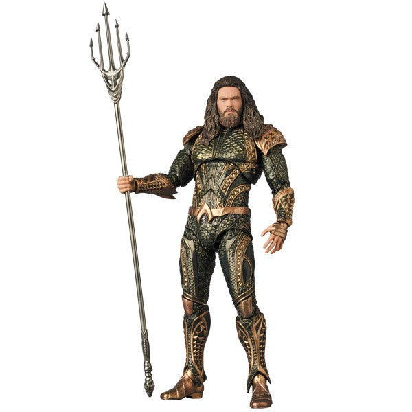 Aquaman (Jason Momoa as Arthur Curry) | Justice League (DC Extended Universe / DCEU) | MAFEX No. 061 (Miracle Action Figure EX) | Medicom | Woozy Moo