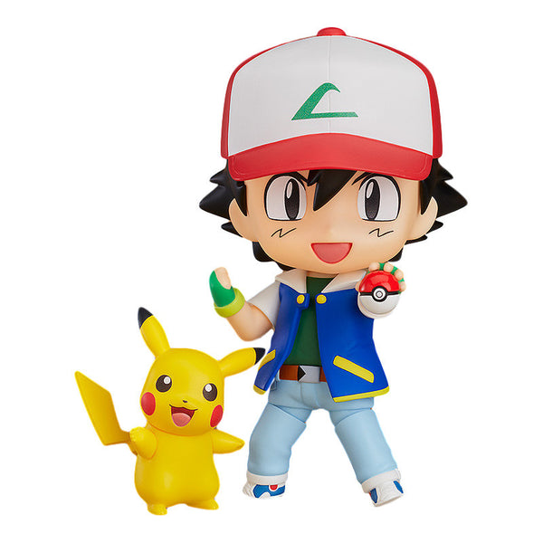 Ash & Pikachu (Satoshi & Pikachuu) | Pokémon (Pocket Monsters) | Nendoroid No. 800 | GOOD SMILE COMPANY | Woozy Moo
