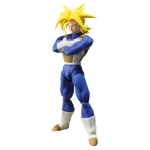 Dragon Ball Z: S.H.Figuarts - Super Saiyan Trunks - Bandai - Woozy Moo - 1