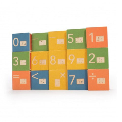 Braille Math Building Blocks - Uncle Goose
