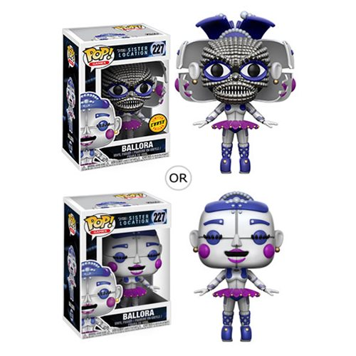 Ballora Five Nights at Freddy's Sister Location Pop Vinyl Figure (Chance of Chase)