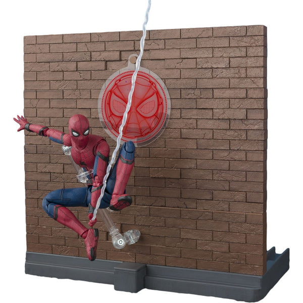 Spider-Man: Homecoming & Tamashii OPTION ACT WALL - Spider-Man - SH Figuarts - Bandai Tamashii Nations - Woozy Moo