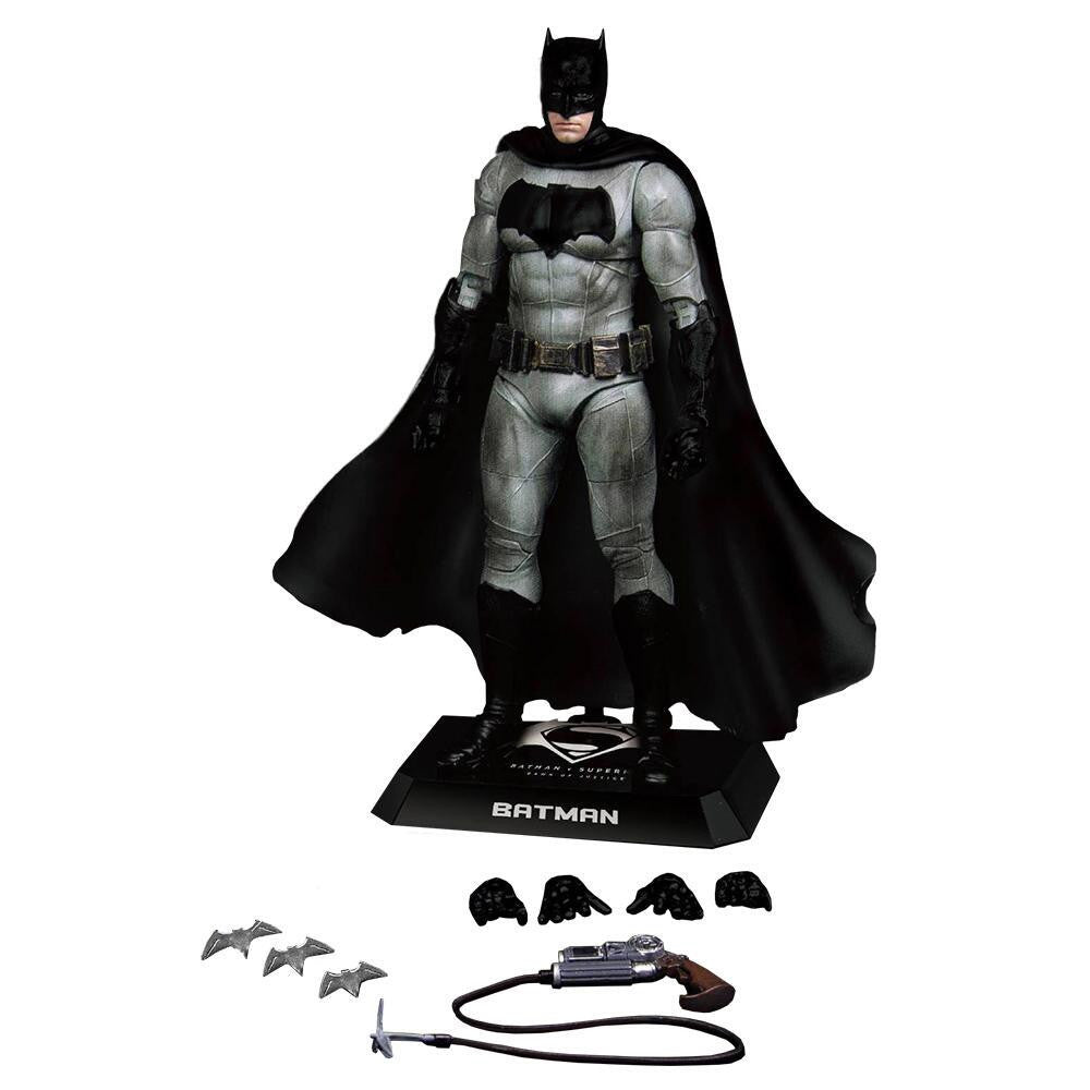 Batman (Ben Affleck) | Batman v Superman: Dawn of Justice | DAH-001 (Dynamic 8ction Heroes) 1/9 scale action figure | Beast Kingdom | Woozy Moo