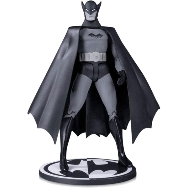 "First Appearance Batman from DETECTIVE COMICS #27 (by Bob Kane) | DC Comics | Black & White 1:11 scale 6.75"" Action Figure 