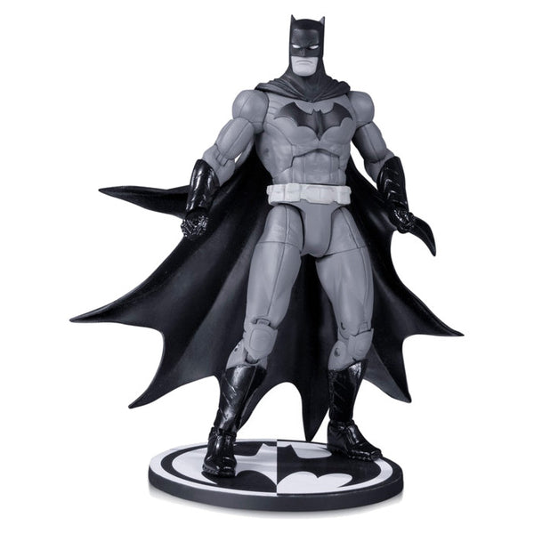 "BATMAN: DEATH OF THE FAMILY (by Greg Capullo) | DC Comics | Black & White 1:11 scale 6.75"" Action Figure 
