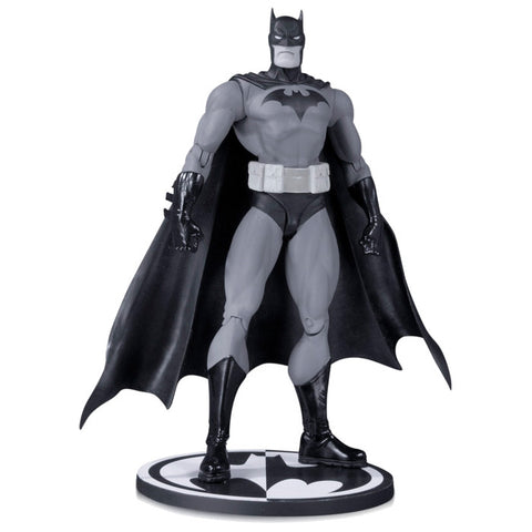 Batman Jim Lee Hush Black White Action Figure