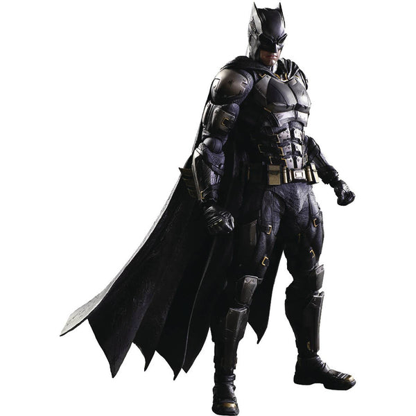 Batman Tactical Suit | Justice League DC Cinematic Universe Play Arts Variant | Play Arts Kai Action Figure | Square Enix | Woozy Moo