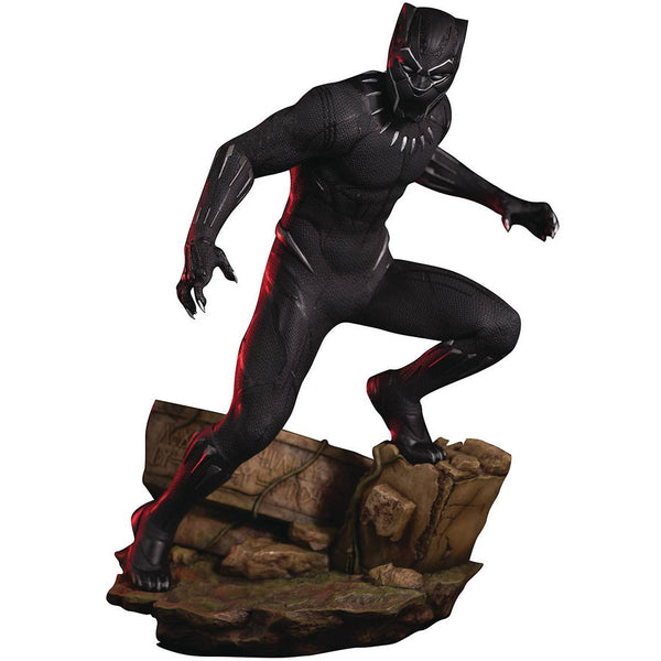 Black Panther | 2018 film Marvel Cinematic Universe | ArtFX 1/6 Scale Statue | Kotobukiya | Woozy Moo