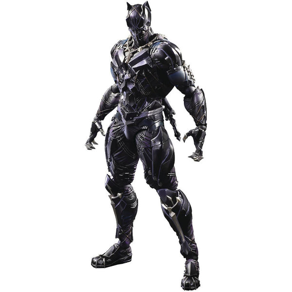 Black Panther | Marvel Universe Play Arts Variant | Play Arts Kai Action Figure | Square Enix | Woozy Moo
