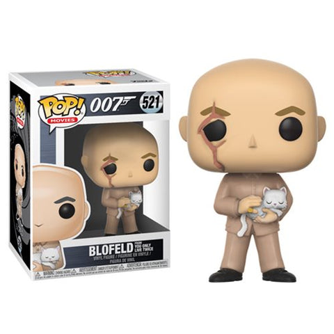 Blofeld You Only Live Twice 007 Pop Movies Vinyl Figure 521