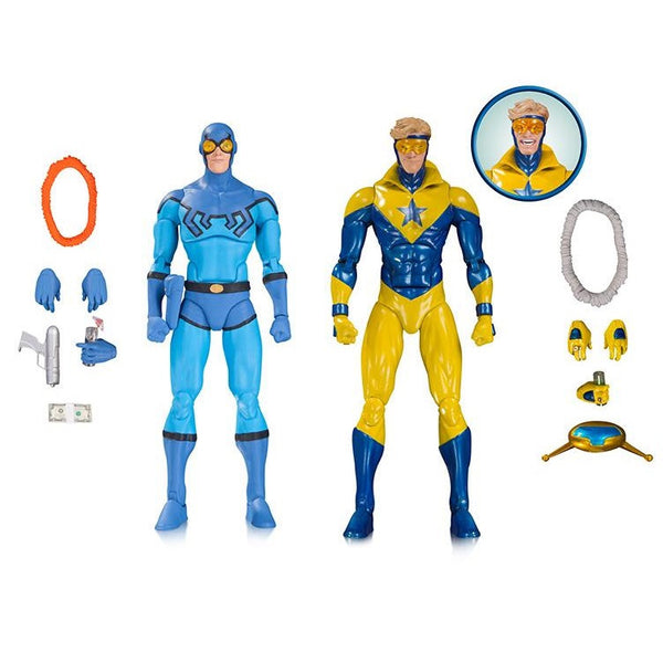 DC Comics Icons - Blue Beetle & Booster Gold Two Pack - DC Collectibles - Woozy Moo