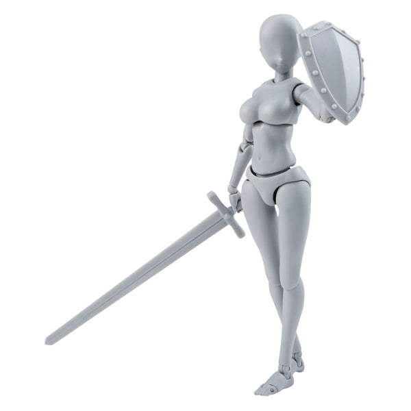 Body-chan -Yabuki Kentarou- Edition DX SET (Gray Color Ver.) - Figuarts (S.H.Figuarts) - Bandai Tamashii Nations - Woozy Moo