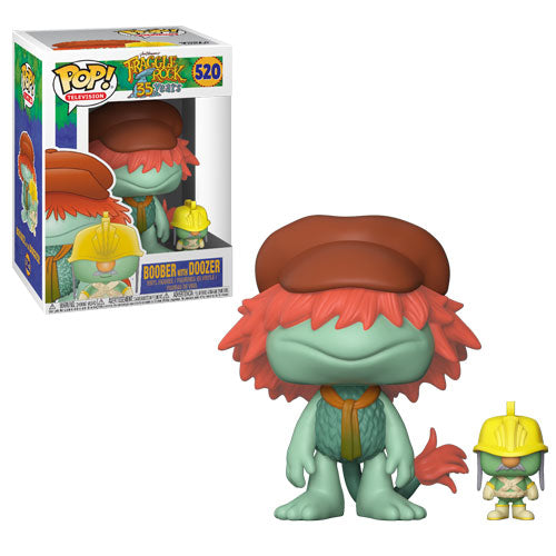 Boober with Doozer | Fraggle Rock | POP! Television Vinyl Figure 520 | Funko | Woozy Moo