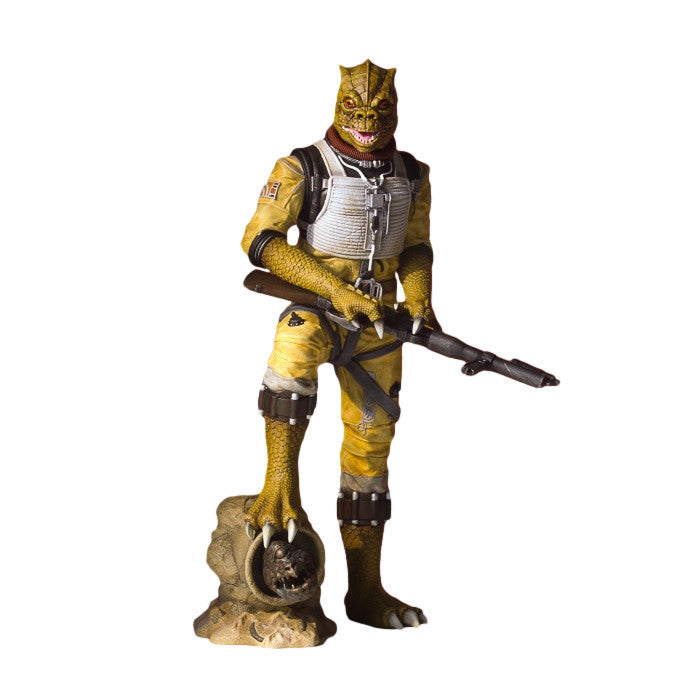 Bossk | Star Wars | Collector's Gallery Statue | Gentle Giant | Woozy Moo