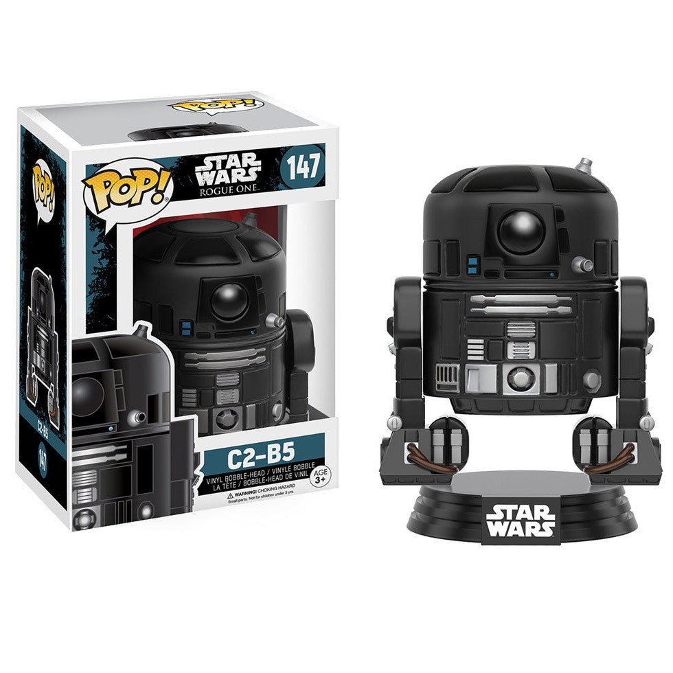 Star Wars Rogue One - C2-B5 Pop! Vinyl Figure - Funko - Woozy Moo