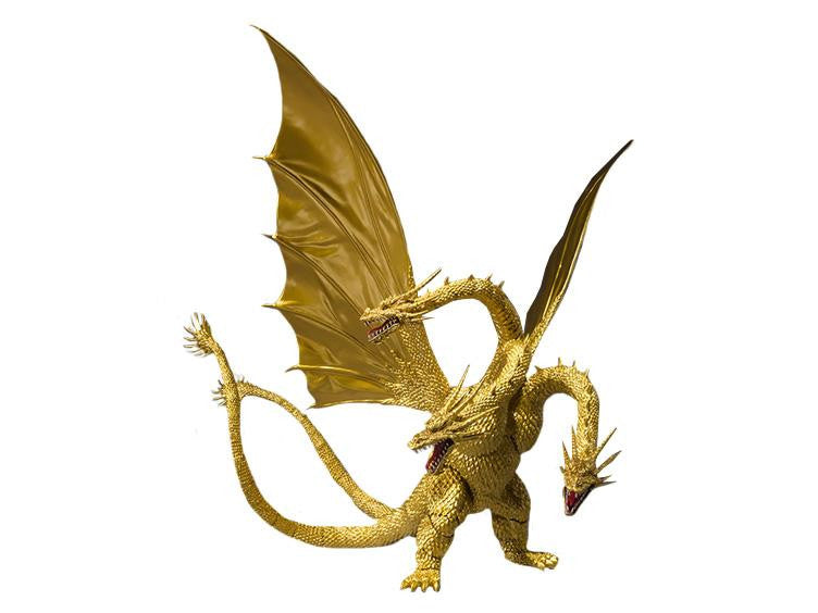 Godzilla: King Ghidorah Special Color Version - S.H. MonsterArts - Bandai - Woozy Moo - 1