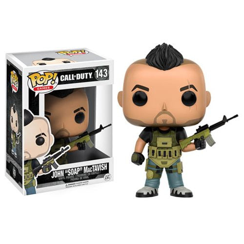 "Call of Duty John ""SOAP"" MacTavish Pop! Vinyl Figure - Funko - Woozy Moo"