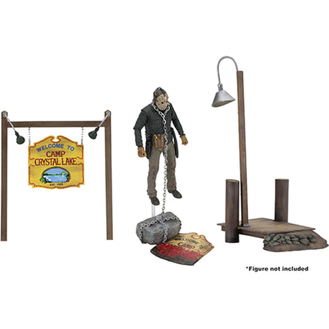 Camp Crystal Lake Set Friday the 13th Accessory Pack