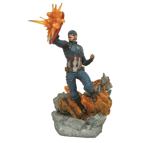 Captain America Marvel Milestones Resin Statue Limited (Civil War)