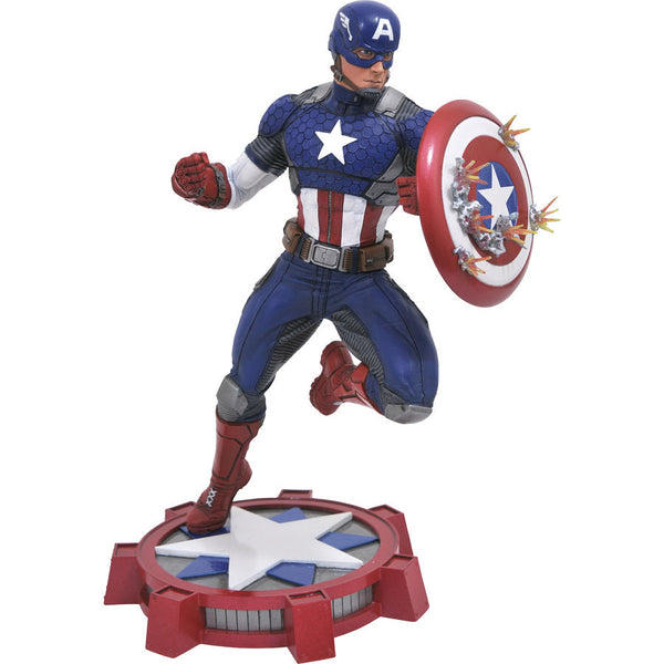 Captain America (Steve Rogers) | Marvel NOW! | Gallery PVC Diorama Figure | Diamond Select Toys / Jean St. Jean | Woozy Moo