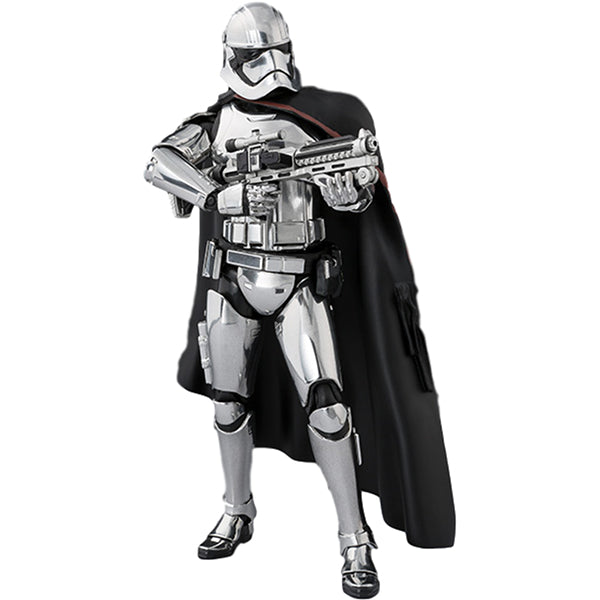 Captain Phasma (The Last Jedi) | Star Wars Episode VIII The Last Jedi | S.H.Figuarts | Bandai Tamashii Nations | Woozy Moo