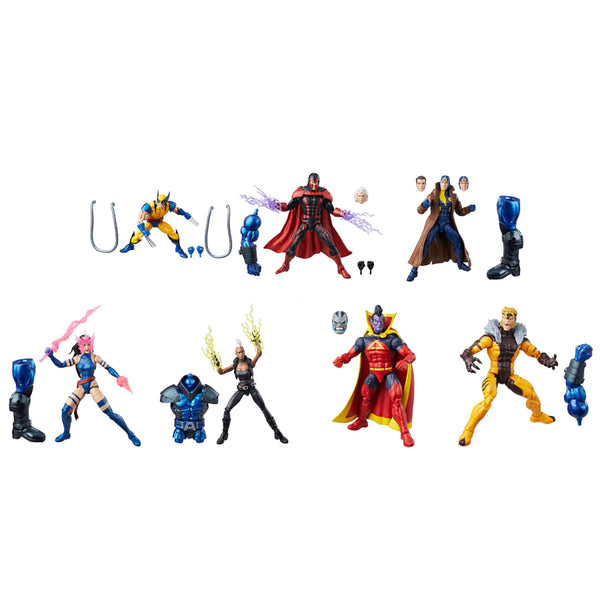 "X-Men Wave 3 (Apocalypse BAF) Marvel Legends 6"" Action Figures Case of 7"