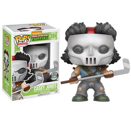 Teenage Mutant Ninja Turtles - Casey Jones Exclusive Pop! Vinyl Figure - Funko - Woozy Moo