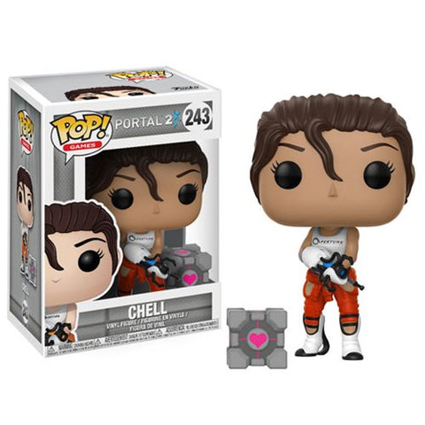 Chell Portal 2 Pop Games Vinyl Figure 243