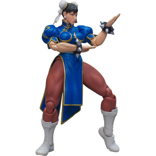 Chun-Li | Street Fighter V | 1/12 Scale Action Figure | Storm Collectibles | Woozy Moo