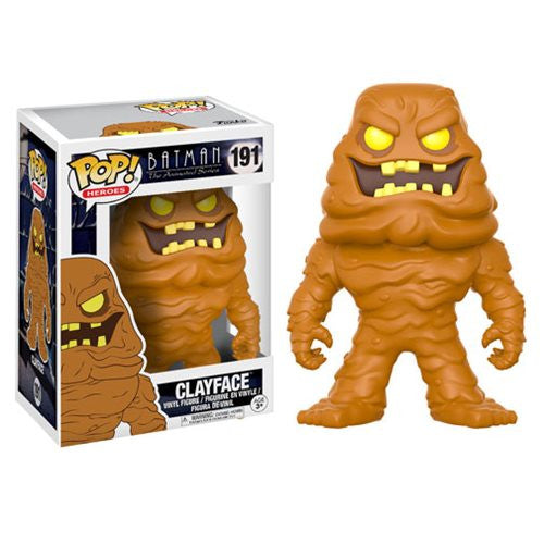 Clayface - Batman: The Animated Series (DC) - Pop! Heroes Vinyl Figure - Funko - Woozy Moo