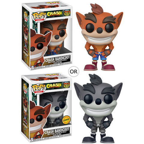 Crash Bandicoot Pop Games Vinyl Figure 273 (Chance of Chase)
