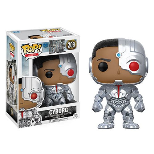 Cyborg (Ray Fisher) - DC Justice League (2017) - Pop! Heroes Vinyl Figure - Funko - Woozy Moo