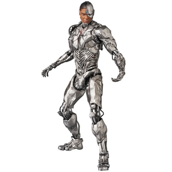 Cyborg (Ray Fisher as Victor Stone) | Justice League (2017, DC Extended Universe / DCEU) | MAFEX No. 063 (Miracle Action Figure EX) | Medicom | Woozy Moo
