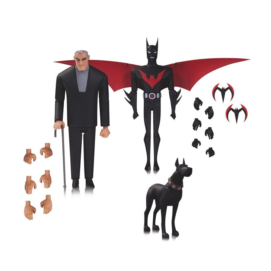 Batman Beyond - Bruce Wayne, Terry McGinnis, & Ace 3 Pack - DC Collectibles - Woozy Moo