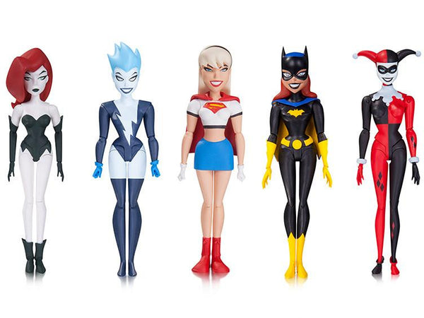 The New Batman Adventures Figure - Girls Night Out Five Pack - DC Collectibles - Woozy Moo